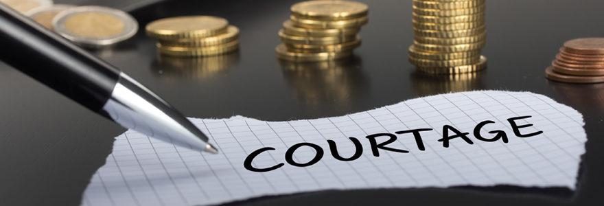 Courtier ou société de courtage